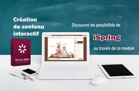 module exemple e-learning créé avec iSpring Suite